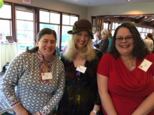NCC Board member Bethany Bacci (center) brought Ella Neal (left) and Karin Veal to Circle of Strength.